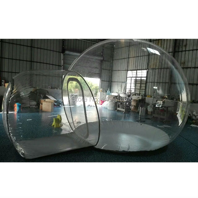 Outdoor Transparent Inflatable Bubble Tent Clear C&ing Tent Crystal Bubble Tent 1pc  sc 1 st  AliExpress.com & Outdoor Transparent Inflatable Bubble Tent Clear Camping Tent ...