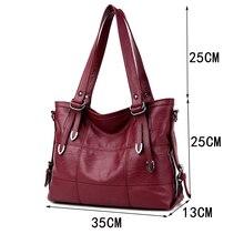 HOT women bag Lady Top-handle bags handbags women famous brands female Stitching casual Big shoulder bag Soft Tote for girls SAC