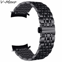 V MORO 22mm Bands Gear S3 Frontier S3 Classic Band Stainless SteelBracelet Band For Samsung Gear