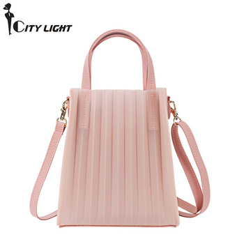 New Small Shoulder Bags Women Candy Color Women Jelly Bags Purse Solid Color Handbags Sac a Main Female Crossbody Bag