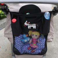 Cartoon Baby Pram Stroller Storage Bag Stroller Car Seat Diapers Bottles Organizer Bag Accessories