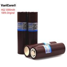 4 قطع hg2 HG2 VariCore 100% جديد الأصلي 18650 3000 مللي أمبير بطارية 3.6 فولت التفريغ 20A ، بطاريات مخصصة E السجائر