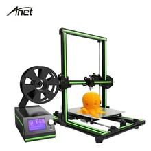Nowy Anet E10 Impresora 3d O Wysokiej Precyzji Drukarka 3D DIY zestaw W Całości z Metalu Imprimante 3d Off-line Duży Rozmiar Wydruku Z żarnik