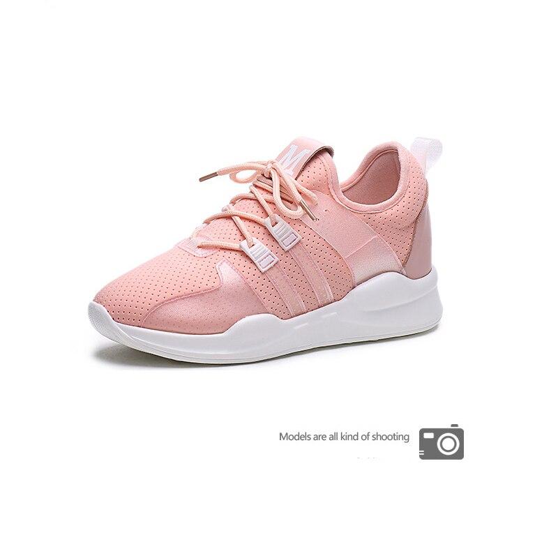 Лидер продаж кроссовки для женщин на шнуровке спортивные кроссовки Zapatillas спортивные женские туфли Прогулочные кроссовки