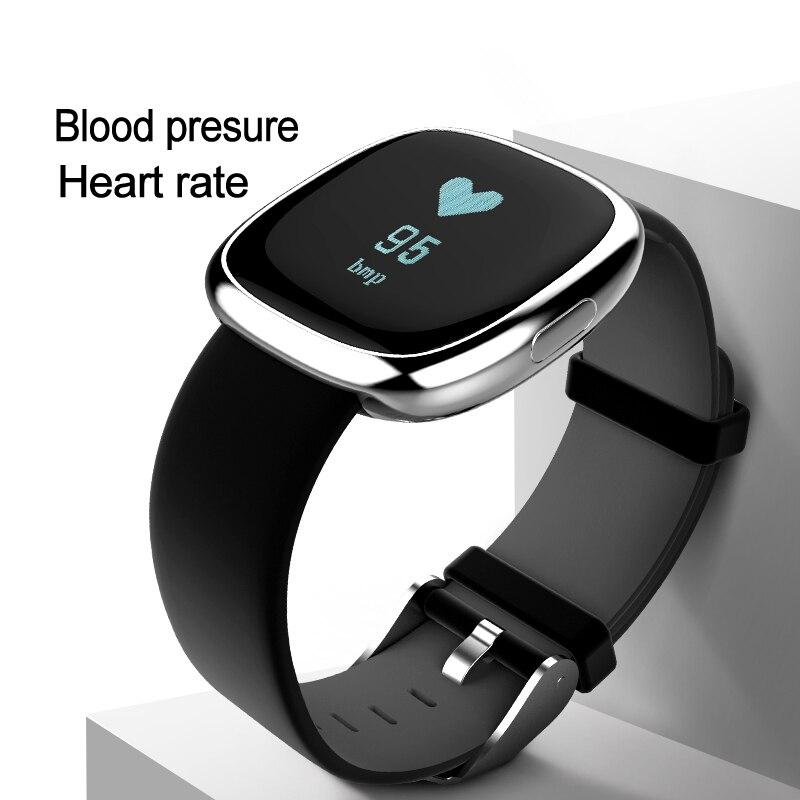 купить Heart Rate Pulse Monitor Smart Band Sleep Fitness Tracker Blood Pressure Bracelet Pedometer for Andriod IOS iPhone 7 Meizu Watch по цене 2279.96 рублей