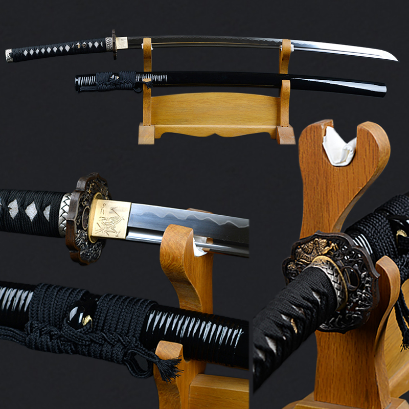 Sharp Edge Japanese Sword Fully Handmade Katana 1095 Carbon Steel Clay Tempered Blade Full Tang Decorative