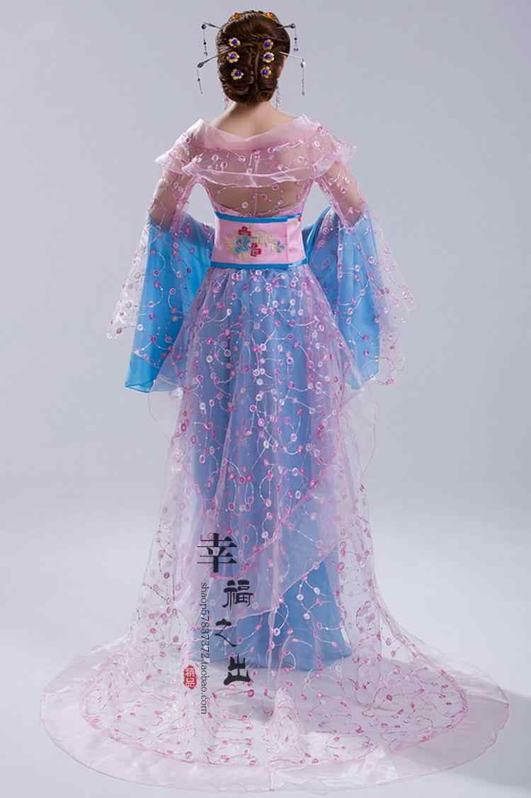 3fdadbbf2cc68 New design Chinese ancient style hanfu tang suit women's fairy princess  stage clothes fancy dress folk dance costume