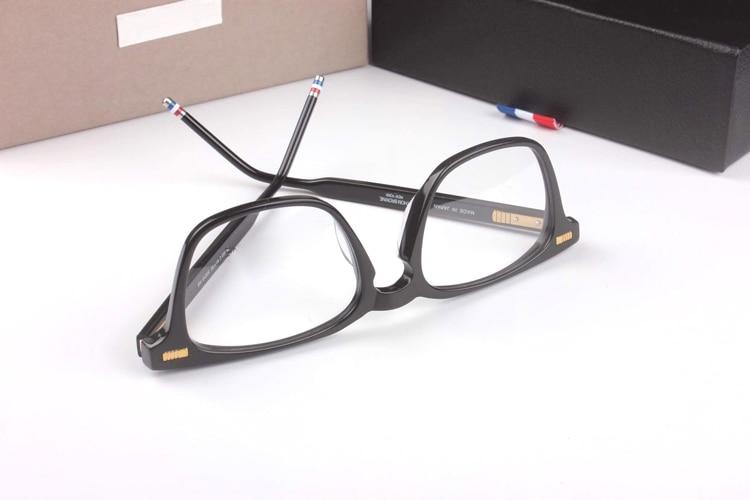 New York lunettes TB402 Prescription lunettes cadres hommes mode lunettes de lecture ordinateur optique cadre avec boîte d'origine - 4