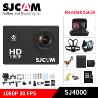 SJCAM SJ4000 mini Action Camera Diving 30M Waterproof Camera 1080P Full HD Mini Helmet Camcorder sj cam yi 4000 Sport DV kamera