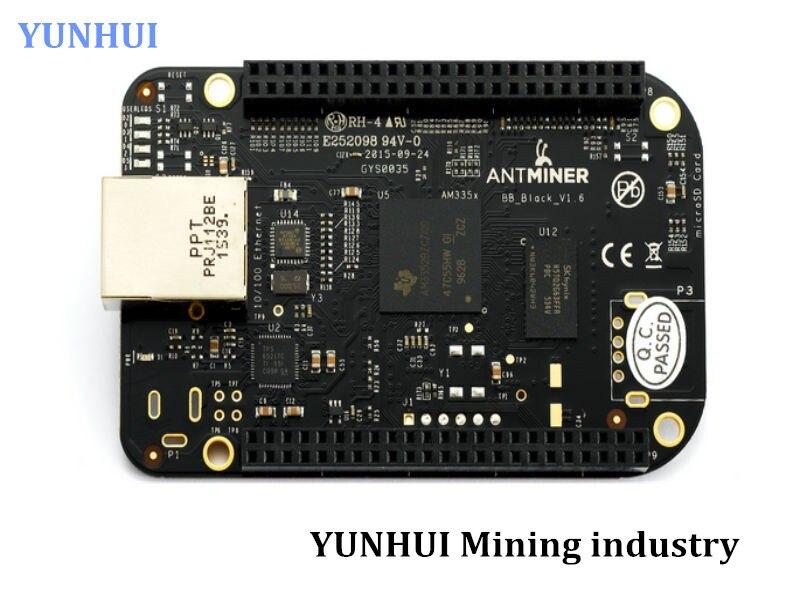 Used Antminer S5,S5+ S7 BB version BB board,Black Board AM3352BZCZ100 Development Board