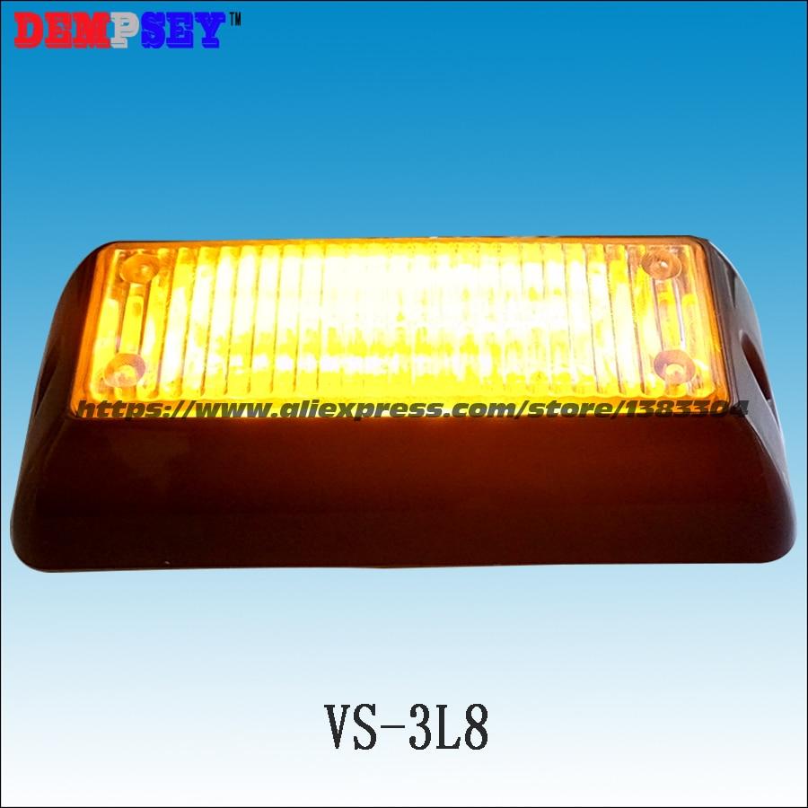Vs 3l8 Led Grill Lights, Tir 6 3w Led, 18 Flash Pattern, Waterproof  Photocell Wiring Diagram Led Wiring Diagram Tir6