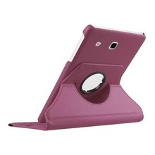 New Products Luxury 360 Rotating Flip Leather Stand  Cover for Samsung Galaxy Tab E T560 T561 Tablet Case CL72