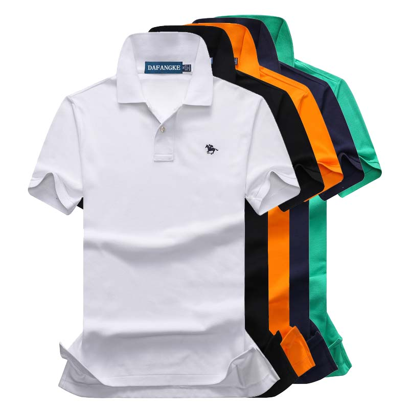 Brand New Fashion Men   Polo   Shirts 2019 Summer Luxury horse embroidery Breathable Camisa Masculina Soft Cotton   Polo   Men P4