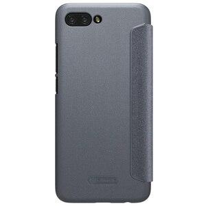 Image 2 - Huawei 社の名誉 Honor 10 フリップカバーケース Nillkin 超薄型フリップケースカバー Pu レザーケース huawei 社 Honor10 電話バッグケース