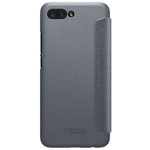 Image 2 - Huawei Onur Honor 10 için Kapak Kılıfı NILLKIN Sparkle Süper İnce Flip Case Kapak PU Deri Kılıf için Huawei Honor10 telefon Çanta Durumda