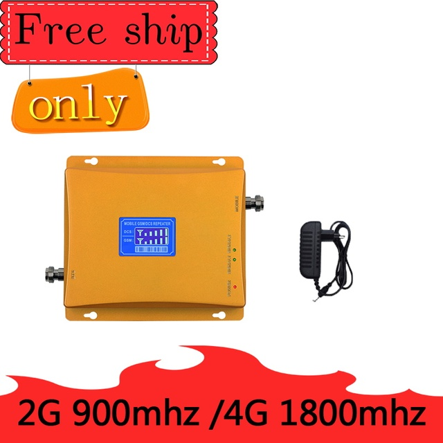 TFX BOOSTER GSM 900 DCS LTE 1800(Band 3) 4G Mobile Phone Signal Booster Dual Band 2G 4G Cellphone Cellular Amplifie  Repeater