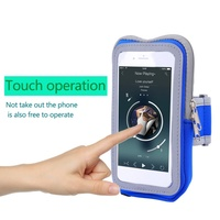 18*10cm Sports Mobile Phone Package   Running   Package Men and Women Outdoor Cell Phone Touch Screen Arm Armband Bag