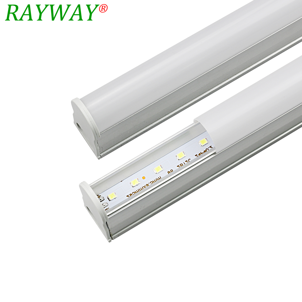 Fluorescent Tube Led Light Us 85 32 Off Ryaway Led Tube T5 Light 30cm Ac 85v 265v Led Fluorescent Tube Led T5 Tube Lamps 5w Cold White Light Lampara Ampoule Pvc Plastic In