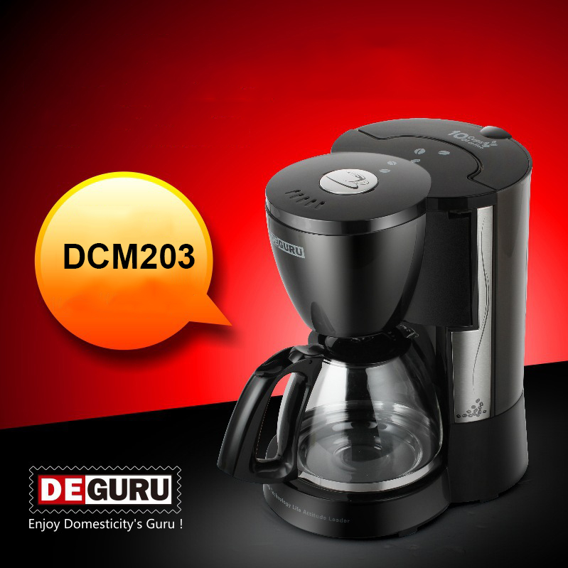 American Household Semi-Automatic Coffee Machine Cooking Heat Preservation Coffee Maker 1.25L Capacity Coffee Making Machine american household semi automatic coffee machine cooking heat preservation coffee maker 1 25l capacity coffee making machine
