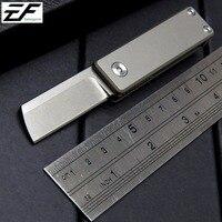 Eafengrow Serge Mini Folding Knife M390 Blade Titanium Alloy Handle Tactical Survival Pocket Outdoor EDC Tool