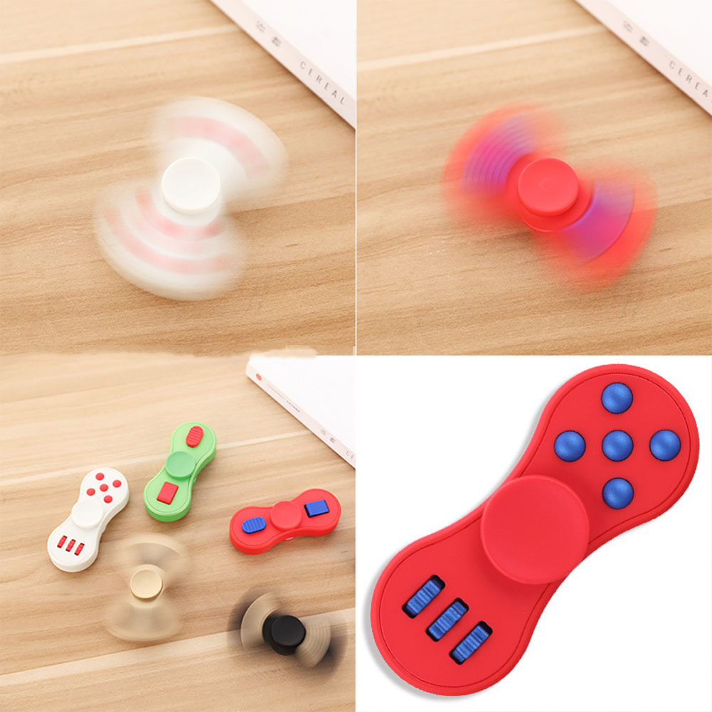 Multifunction Finger Spinner Fidget ABS Toy EDC Hand Spinner For Autism And ADHD Rotate Funny Anti Stress Toys