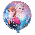 10pcs elsa anna round Aluminum foil balloon Helium Cartoon inflatable party balloon kids Decoration birthday party classic toy