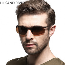 Polarized sunglasses men, male tide aluminum magnesium alloy spectacles, driving cool fashion wholesale UV400