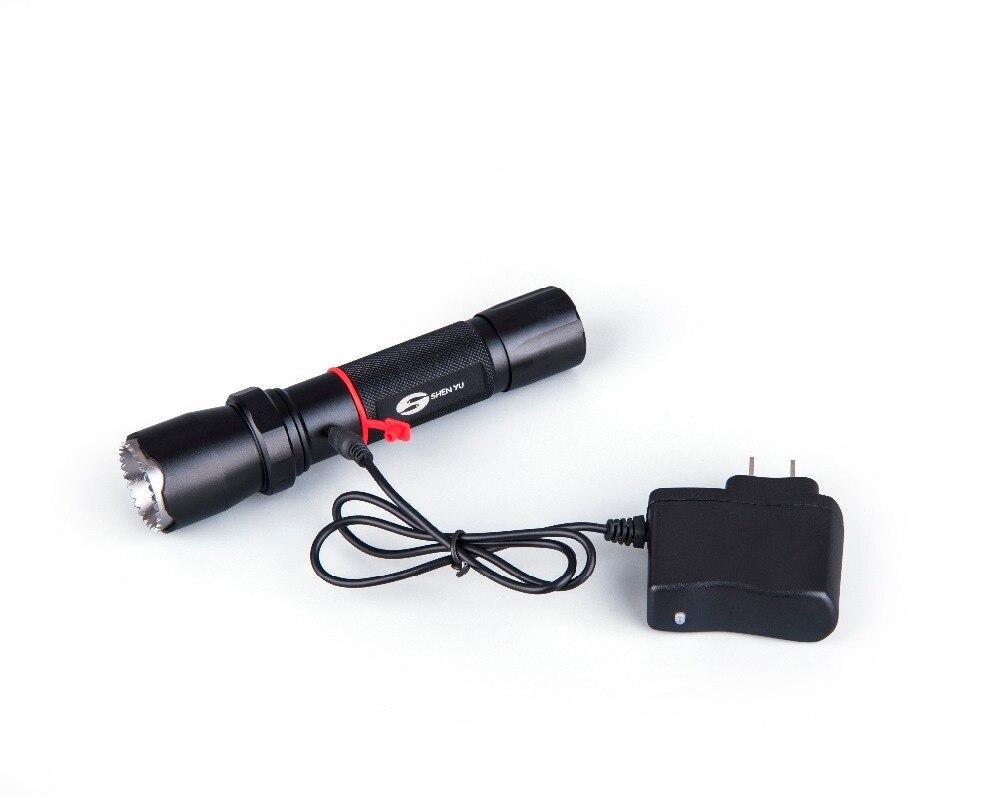 Shenyu tactical led taschenlampe taschenformat superhellen doppel