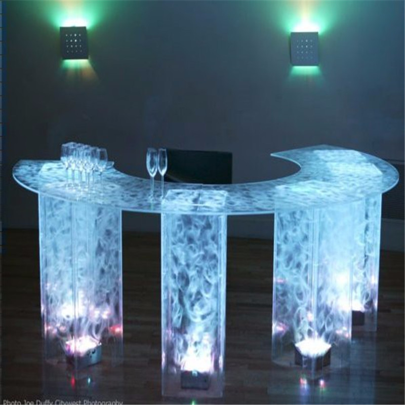 waterproof outdoor rgbw led light kit plastic furniture lighting