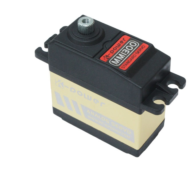 Image 2 - K power MM1300 13KG High Torque Metal Gear waterproof  Servo for RC Car/RC Hobby/RC robot/airplane/boat/Retract landing-in Parts & Accessories from Toys & Hobbies
