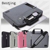 2017 New Brand Nylon Sleeve Case For Laptop 11 13 14 15 15 6 Messenger Handbag