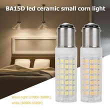 BA15D 9W LED Light Bulb Ceramic Corn Lamp for Home Lighting Decoration led corn bulb lamp Warm/white lighting