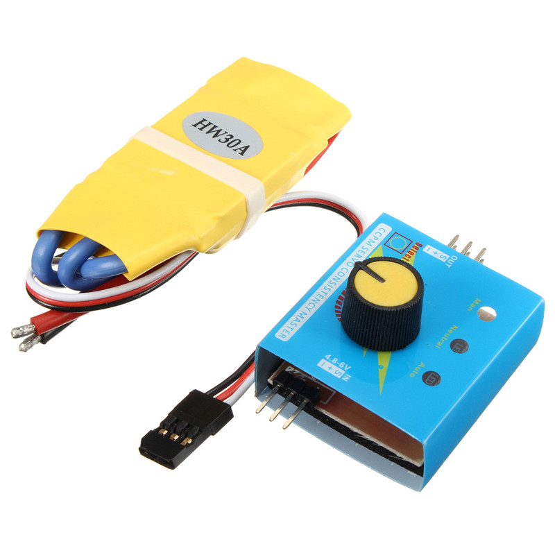 Best price 30a 12v dc 3 phase high power esc brushless for Three phase motor speed control