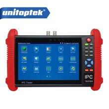 IPC-9800 Serie 7 zoll CCTV Tester 1080 P IP AHD CVI TVI CVBS kamera Test/PoE Leistung/HDMI out/Eingebautes WIFI/Onvif etc