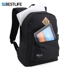 BESTLIFE Canvas Backpack laptop bag vintage Blue School Bags High School Student Girl & Boy College duffle bags mochila escolar цена и фото