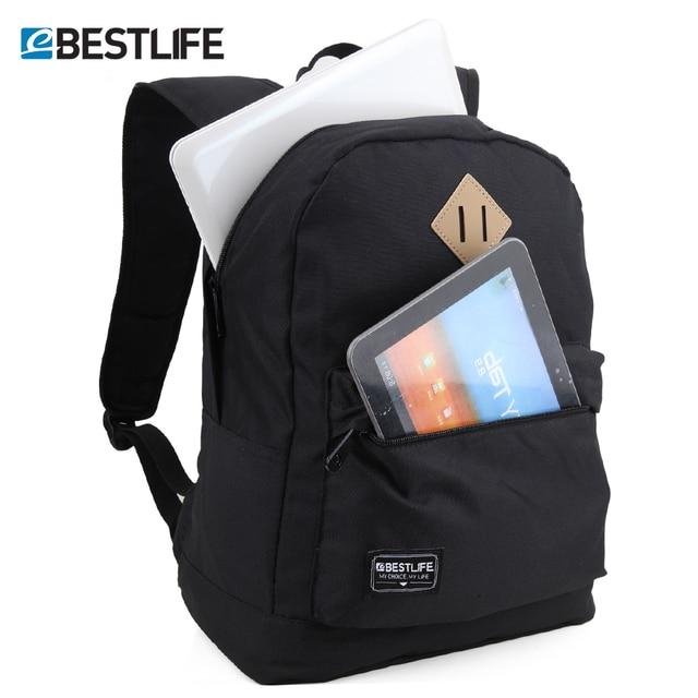 85d8b297b7 BESTLIFE sac à dos pour hommes femmes 14.1 pouces sacs pour ordinateur  portable garçons filles décontracté