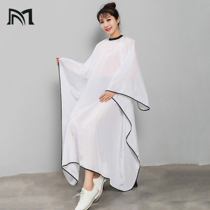 Senior Waterproof Silk Quality Smooth And Non Sticky Hair Easy Cleaning Salon Wrap Aprons Barbers Modeling Auxiliary Tools B6