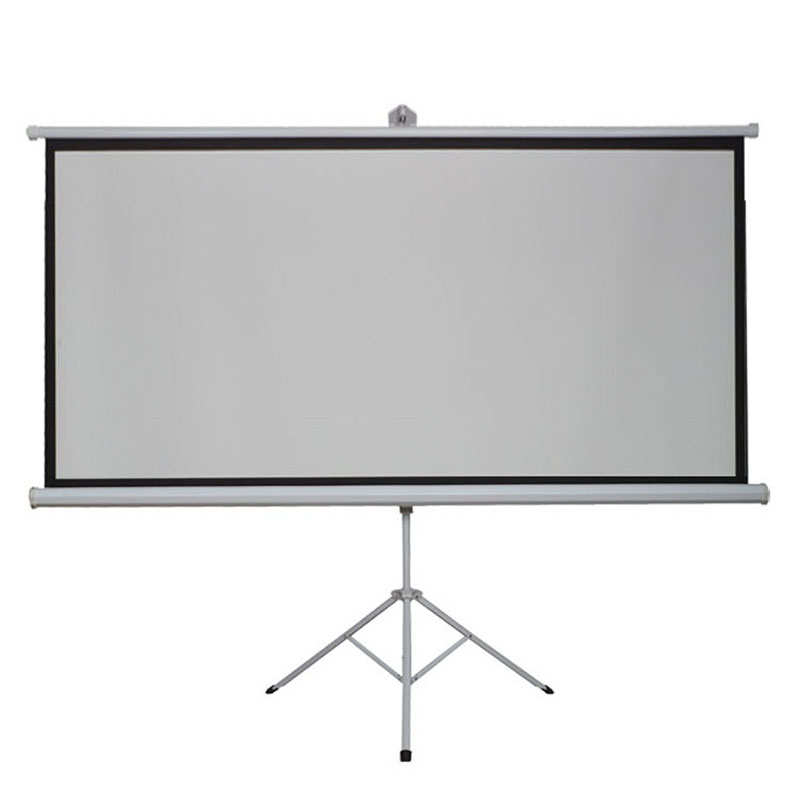 high contrast hd 120 inches 169 tripod portable projection screen floor stand bracket projector
