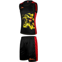 Plus Size XL 5XL Brand Basketball Jersey Set 2017 Basketball Running Sets For Men Team Training Sports wear Jersey Shorts Set