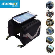 Leadbike Bicycle Saddle Bags Mountain Bike Pack Seat Tail Pouch Rear Package Cycling Front Frame Tube bag Frame Holder Bag