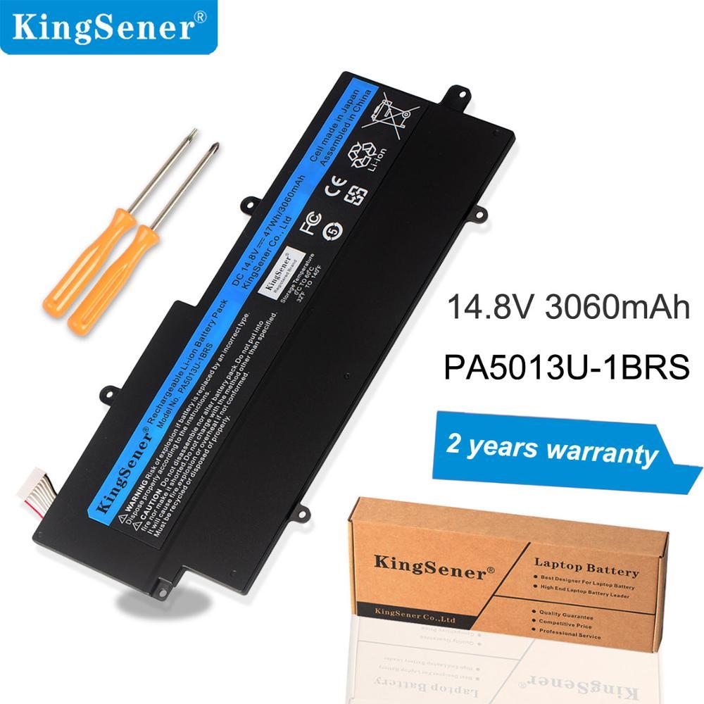 Kingsener PA5013U-1BRS Battery For Toshiba Portege Z835 Z830 Z930 Z935 Ultrabook PA5013 PA5013U 14.8V 3060mAh With Free Tool