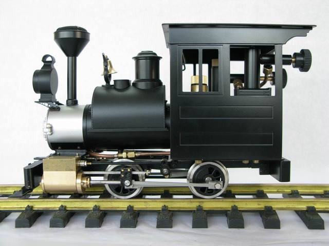 1:20.3 G scale brass made steam train model - USA Porter