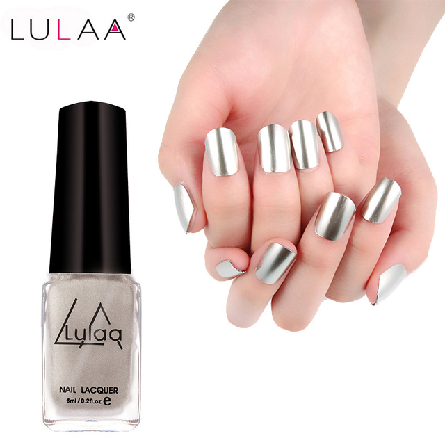 1 unid marca Manicura Pink nail Pulidoras impermeable rápido Seco 5 ...