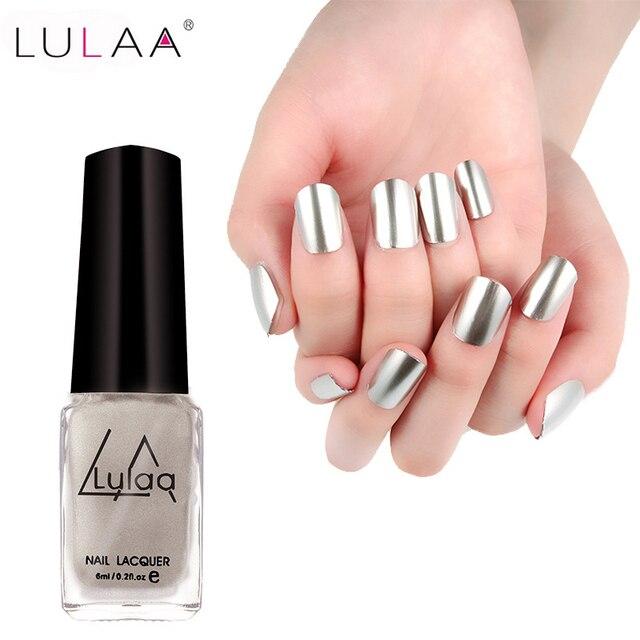 Metallic Silver Nail Polish Brands