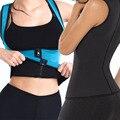 Womens hot sweet ombro emagrecimento perda de peso vest underbust corset workout trainer cintura cincher cintura com zíper