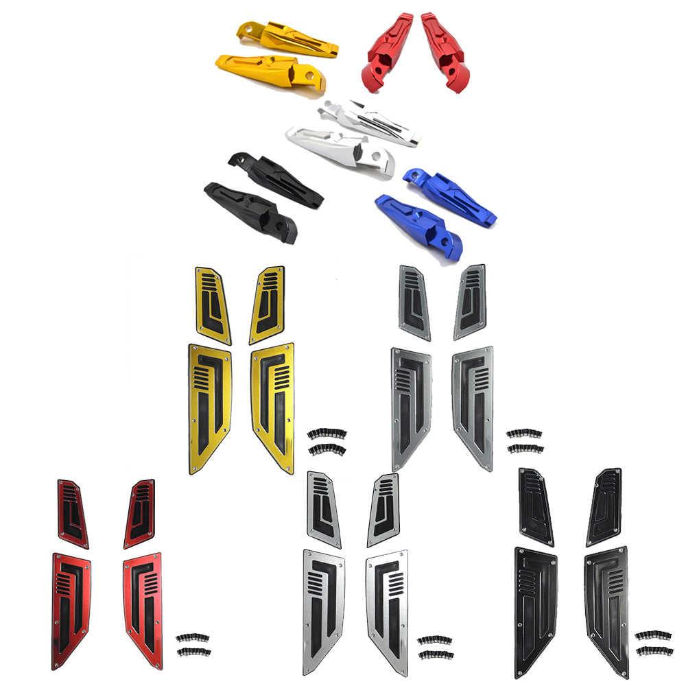 KEMIMOTO 1 Muito Pé Rearset Pé Pegs Pedais Apoio Para Os Pés Para Yamaha TMAX 530 T MAX 530 2012 2013 2014 2015 2016