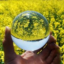 Новые Детские Игрушечные Мячи прозрачное стекло, хрусталь мяч лечебная Сфера реквизит для фотосъемки фото подарки 30-50 мм детская игра Наружная игрушка