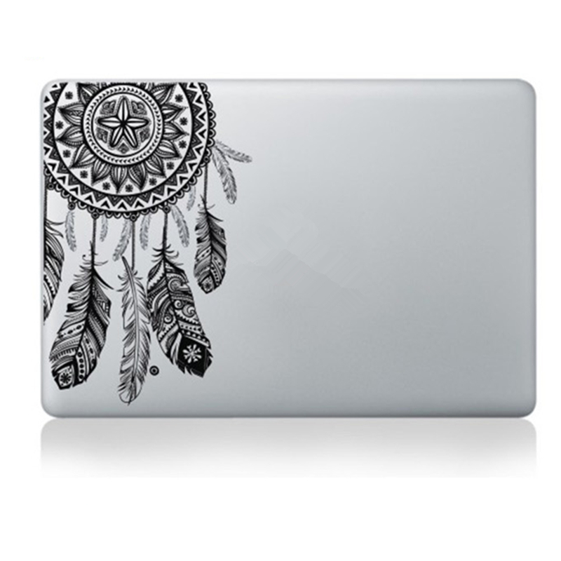 Veer Patroon Bloemen Vinyl Decal Laptop Sticker Voor Macbook Air Pro - Notebook accessoires - Foto 5