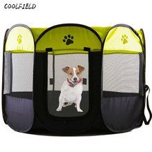 New Arrival Portable Folding Pet Bed Tent Playpen Dog Cat Fence Puppy Kennel Easy Operation Exercise Play House Outdoor