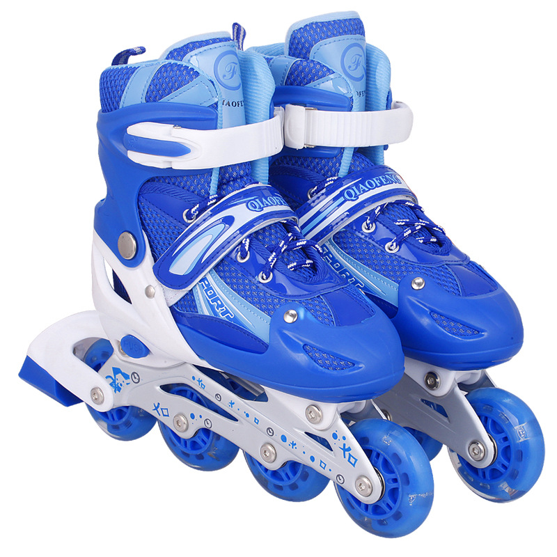 Hot Professional Adult Children Inline Skates Skating Shoes Adjustable Breathable Skates Shoes Patines 3 Color For